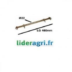 Pièces tracteur et micro tracteur - Barre d'attelage - Lideragri