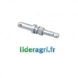 Pièces tracteur et micro tracteur - Piton d'attelage double Ø22/28mm - Lideragri