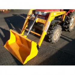 Chargeur frontal 'Liderfarm' micro tracteur