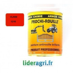 Peinture Orange Claas 1216