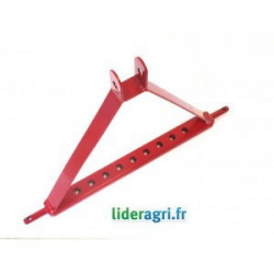 Chassis d'attelage tracteur