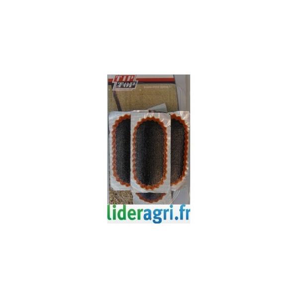 Pièces tracteur et micro tracteur - Rustine pour réparation 74x37mm - Lideragri