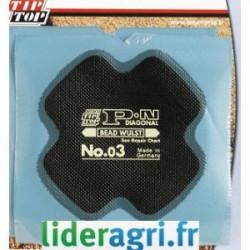 Emplatre PN03 pour pneu Ø...