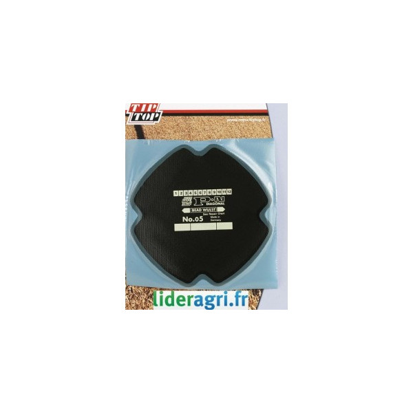 Rustine / Emplatre / Tresse - Emplatre PN05 pour pneu Ø 160mm - Lideragri