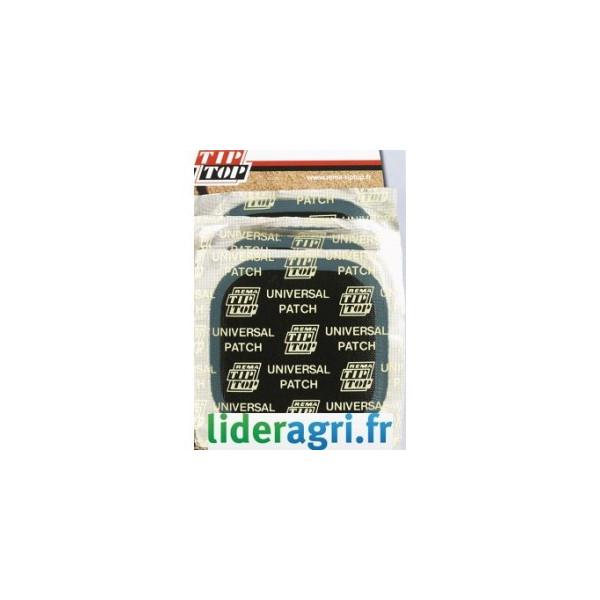 Rustine / Emplatre / Tresse - Emplatre pour pneu 60x60mm - Lideragri
