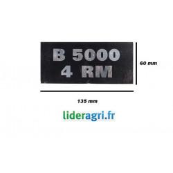 Autocollant B5000