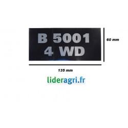 Autocollant B5001