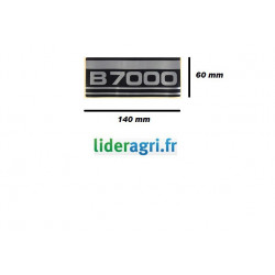 Autocollant B7000