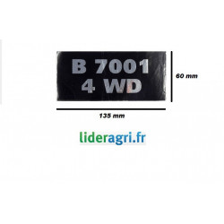 Autocollant B7001