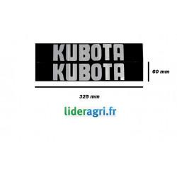 Autocollant KUBOTA