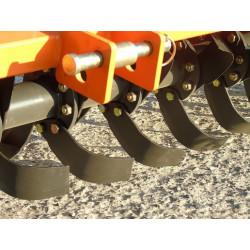 Rotavator fraise arrière tracteur